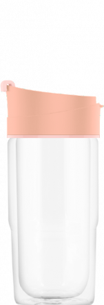 Термокружка Nova Shy Pink 0.37 L
