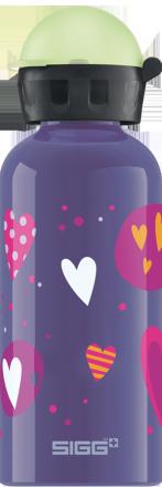Детская бутылка для воды Glow Heartballons 0.4l