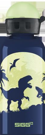 Детская бутылка для воды Glow Moon Dinos 0.4l