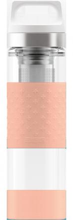 Термос Hot & Cold Glass Shy Pink 0.4l