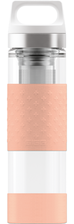 Термос Hot & Cold Glass Ultra Pink 0.4l