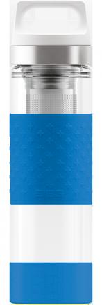Термос Hot & Cold Glass Ultra Blue 0.4l