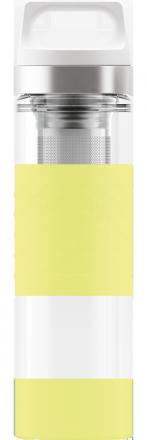 Термос Hot & Cold Glass Ultra Lemon 0.4l