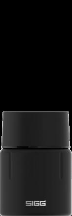 Food Jar Gemstone Obsidian 0.5l
