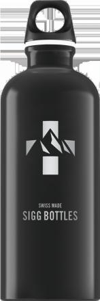 Бутылка для воды Mountain Black 0.6l