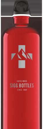 Бутылка для воды Mountain Red 1l